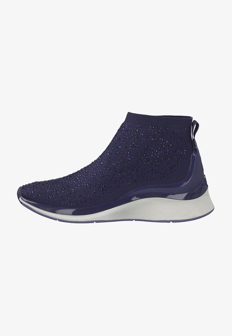 Tamaris Fashletics - Höga sneakers - navy