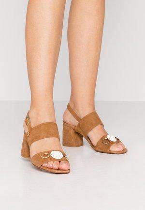 BELLE  - Sandals - camel