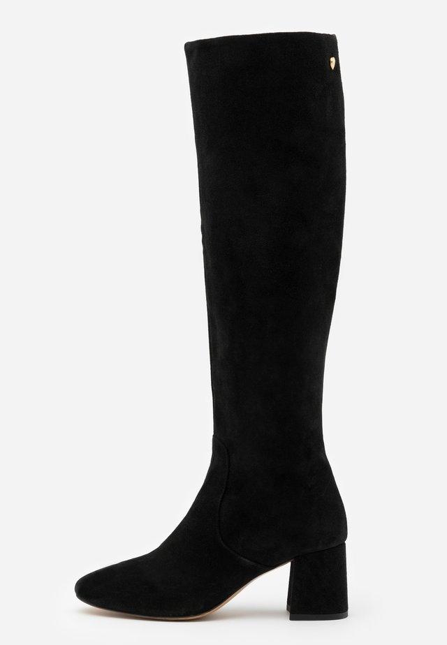 SELENE HIGH BOOT - Vysoká obuv - black