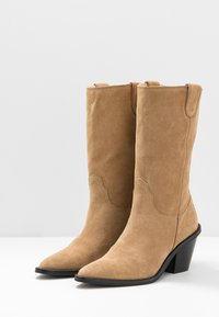 Fabienne Chapot - DOLLY HIGH - Cowboy/Biker boots - sand - 4