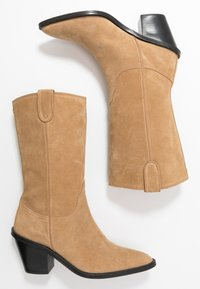 Fabienne Chapot - DOLLY HIGH - Cowboy/Biker boots - sand - 3
