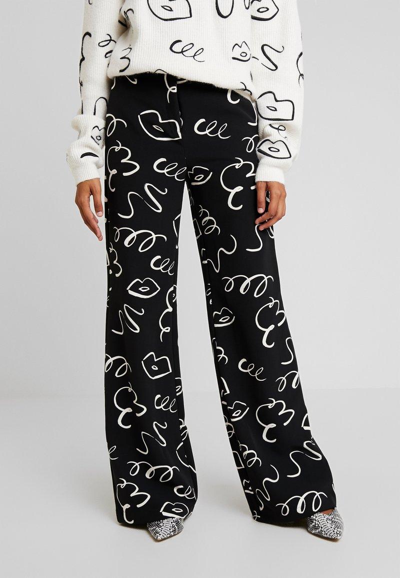 Fabienne Chapot - PUCK TROUSER - Trousers - black