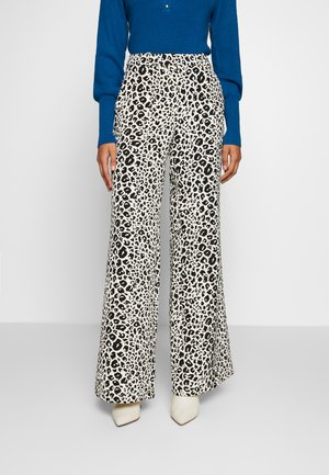 PUCK TROUSER - Trousers - black/offwhite