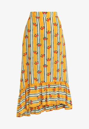 MISHA SKIRT - Maxi skirt - sunshine yellow