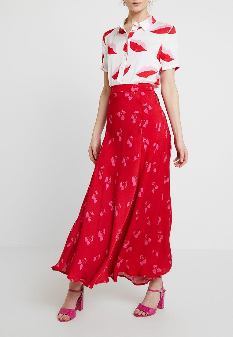 Fabienne Chapot - MEGAN KARIN SKIRT - Maxi skirt - scarlet red