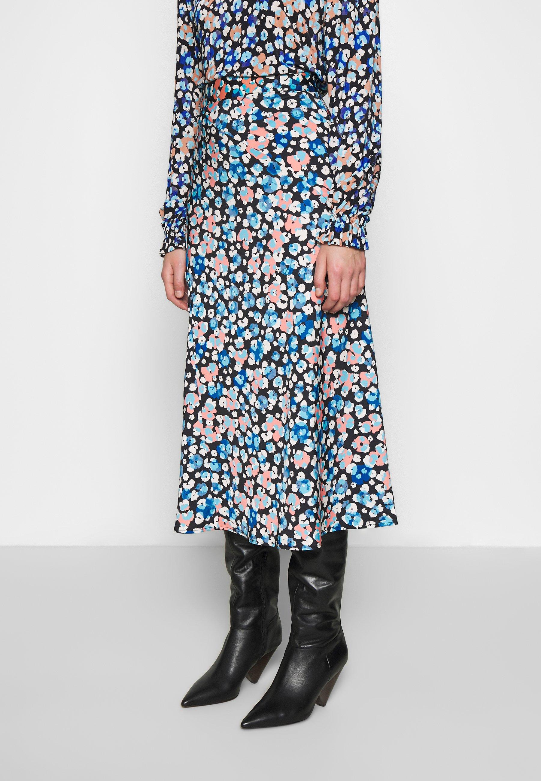 Fabienne Chapot CLAIRE SKIRT - Kokerrok - leopard blossom