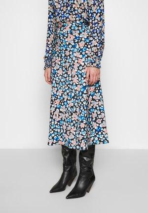 CLAIRE SKIRT - Pouzdrová sukně - leopard blossom