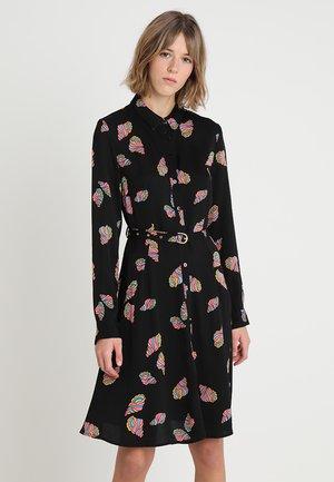 HAYLEY ROSE DRESS - Paitamekko - black