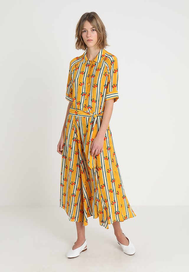 BRIZO DRESS - Abito a camicia - sunshine yellow