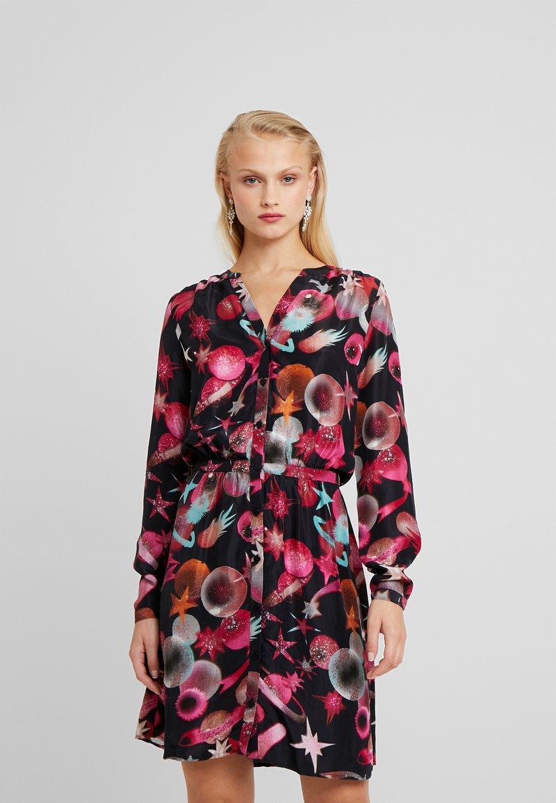 Fabienne Chapot - LISELOTTE SHORT DRESS - Robe d'été - black