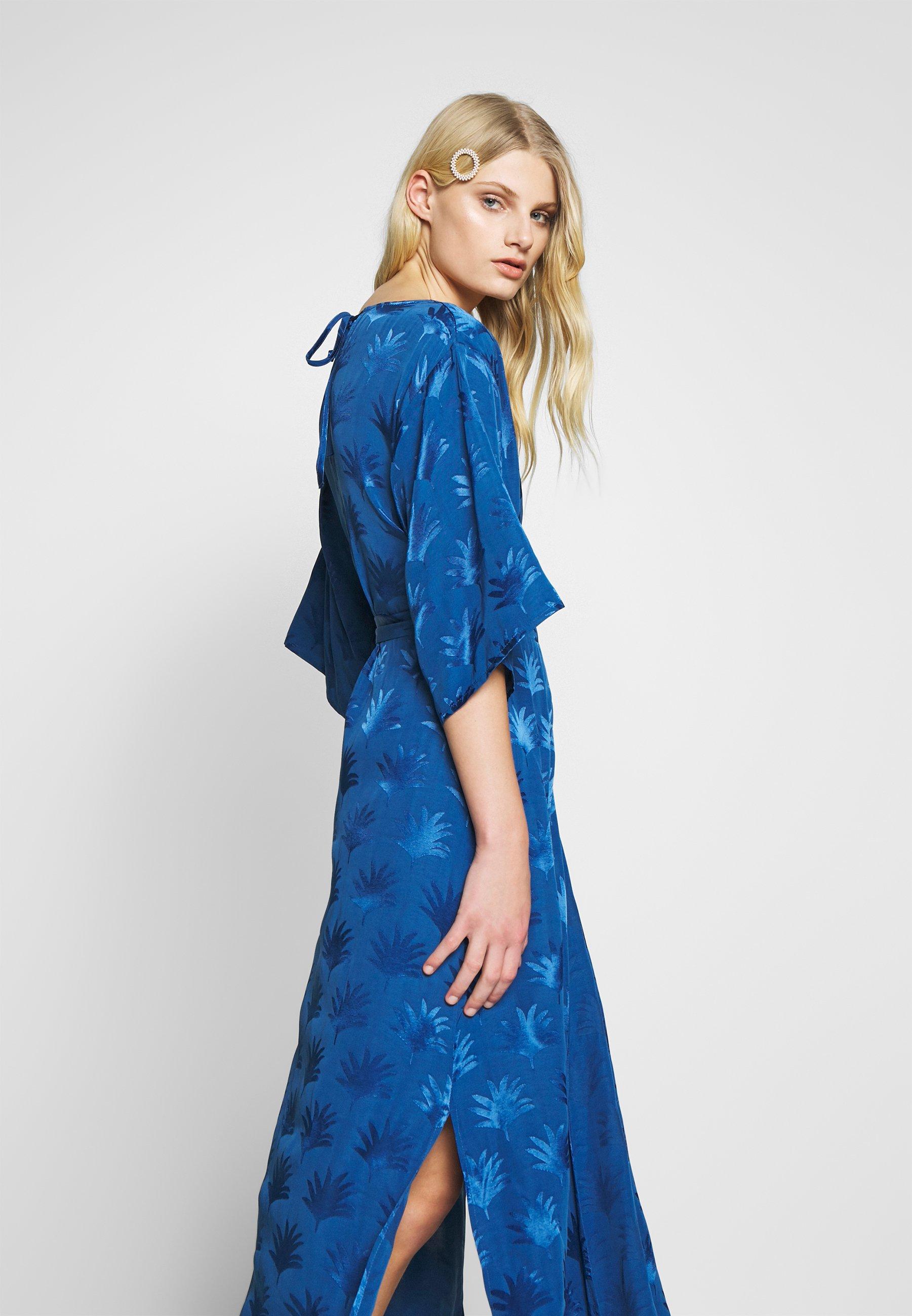 Fabienne Chapot Wendy Dress - Korte Jurk Fan Blue lANqRGE