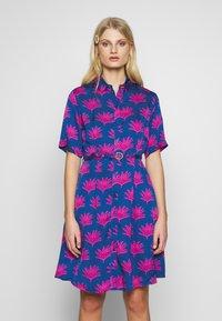 Fabienne Chapot - MILA DRESS - Shirt dress - blue/pink - 0