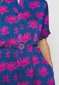 Fabienne Chapot - MILA DRESS - Shirt dress - blue/pink - 6