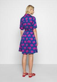 Fabienne Chapot - MILA DRESS - Shirt dress - blue/pink - 2