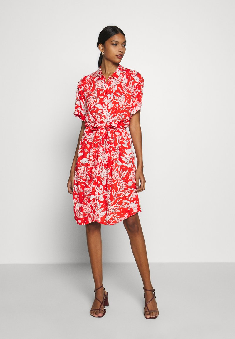 Fabienne Chapot - BOYFRIEND LOVELY LOVE - Shirt dress - crazy coral