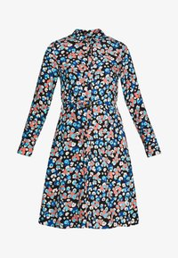 Fabienne Chapot - HAYLEY DRESS - Shirt dress - blue/orange/white - 5