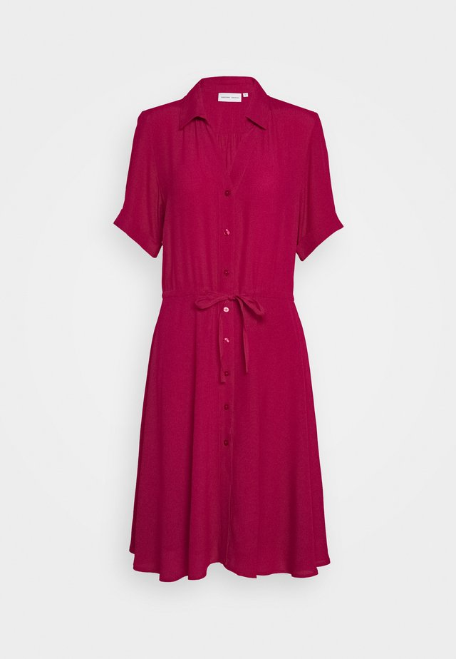 ELLEN COCO DRESS - Skjortekjole - parrot purple