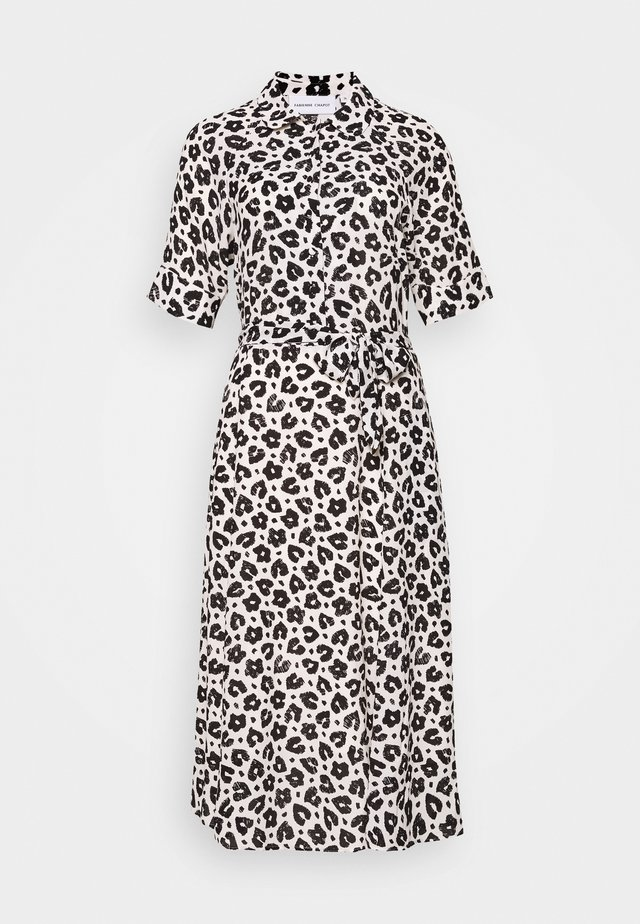 BRIZO DRESS - Sukienka letnia - cream white/black