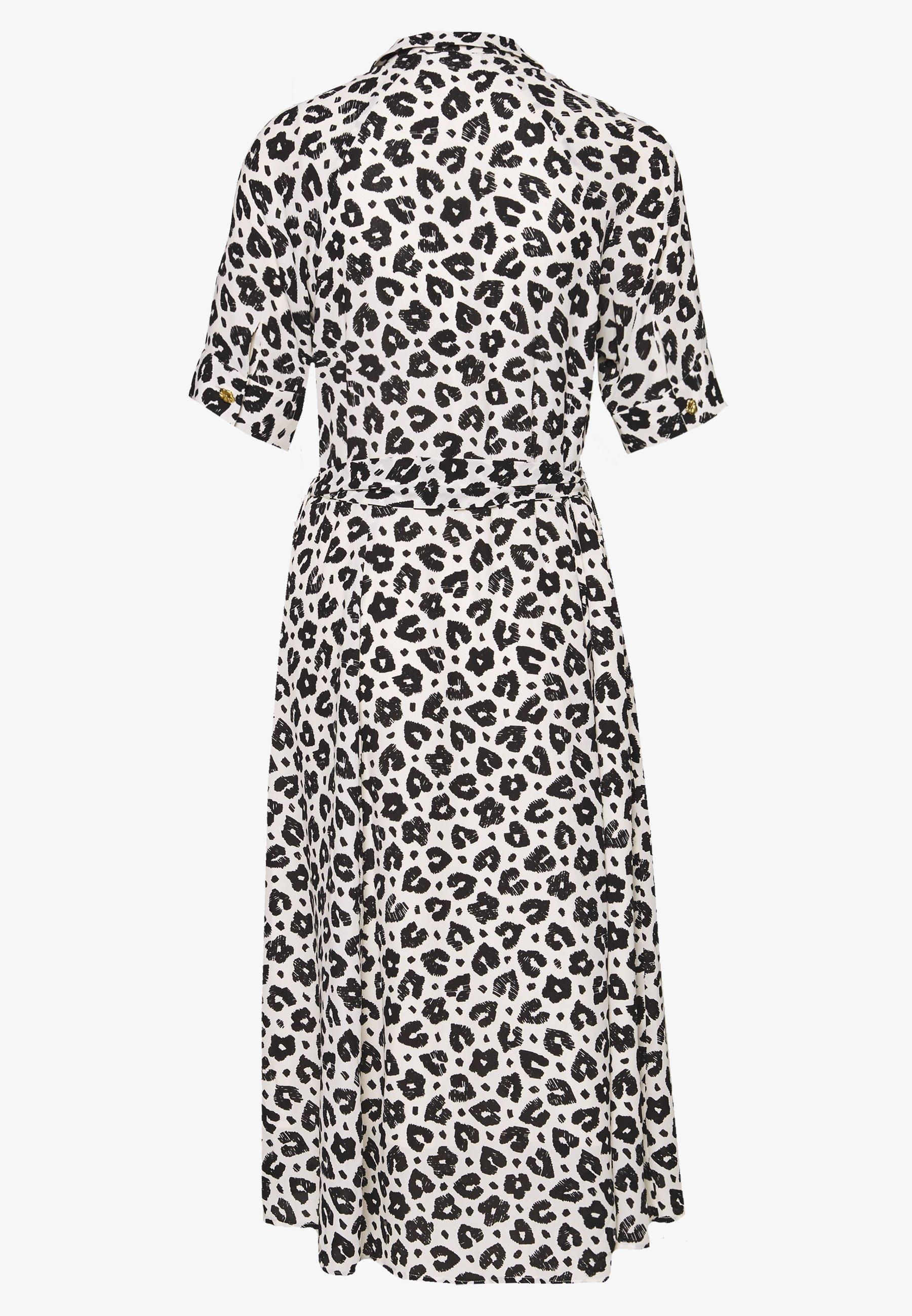 Fabienne Chapot Brizo Dress - Vapaa-ajan Mekko Cream White/black