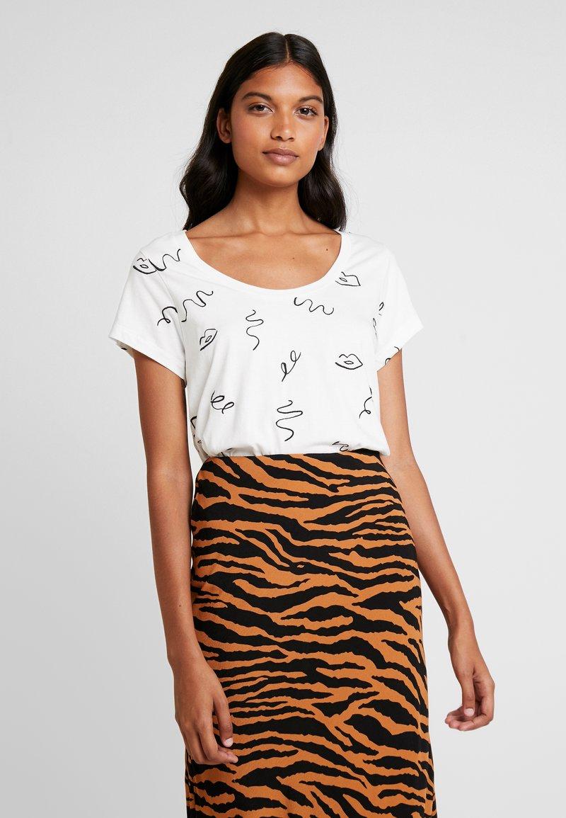 Fabienne Chapot - KRIS - T-Shirt print - off white