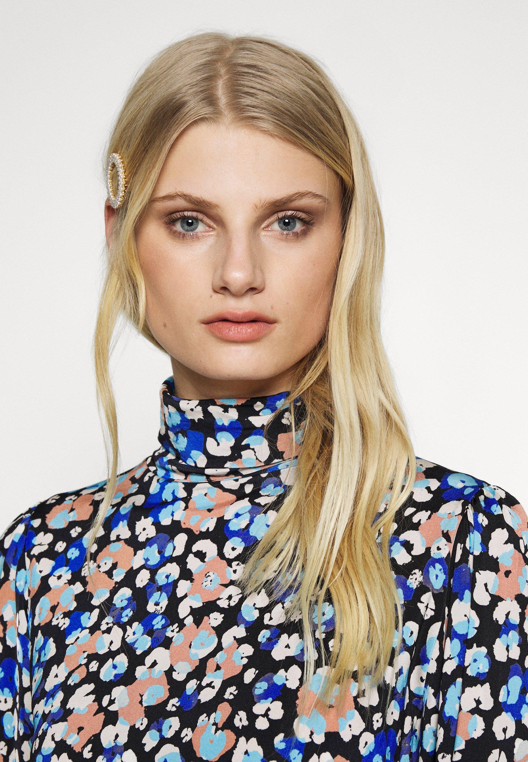 Fabienne Chapot Billy Turtleneck - Långärmad Tröja Leopard Blossom