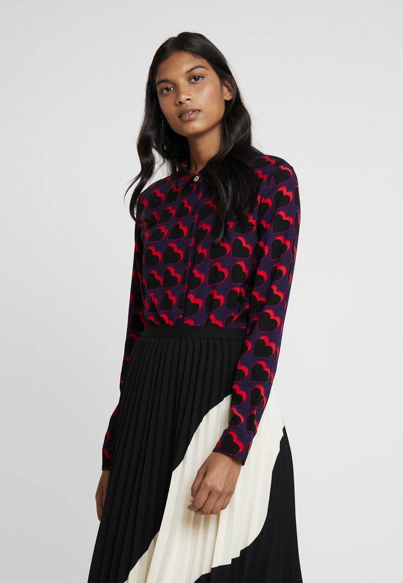 Fabienne Chapot - PERFECT BLOUSE - Overhemdblouse - game over hearts