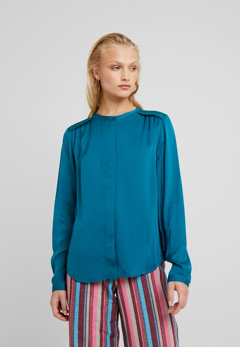 Fabienne Chapot - SUNSET BLOUSE - Blouse - the real teal