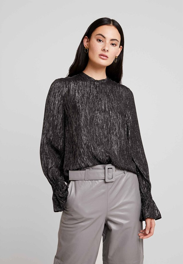 STUDIO BLOUSE - Pusero - black
