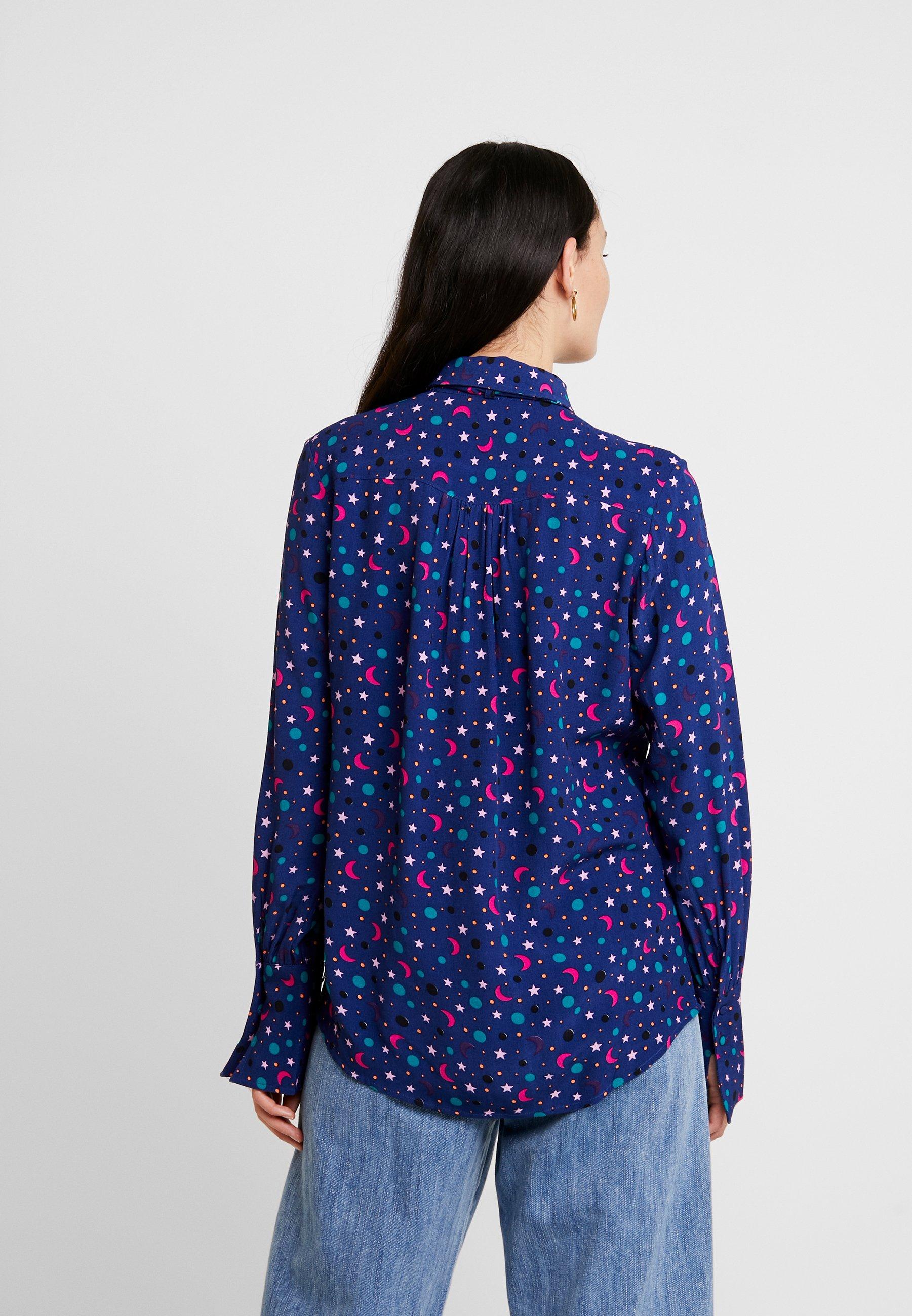 Fabienne Chapot PAR MOON BLOUSE Overhemdblouse blue