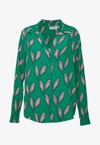 Fabienne Chapot - NOA BLOUSE - Button-down blouse - pink pepper - 4