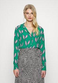 Fabienne Chapot - NOA BLOUSE - Button-down blouse - pink pepper - 0