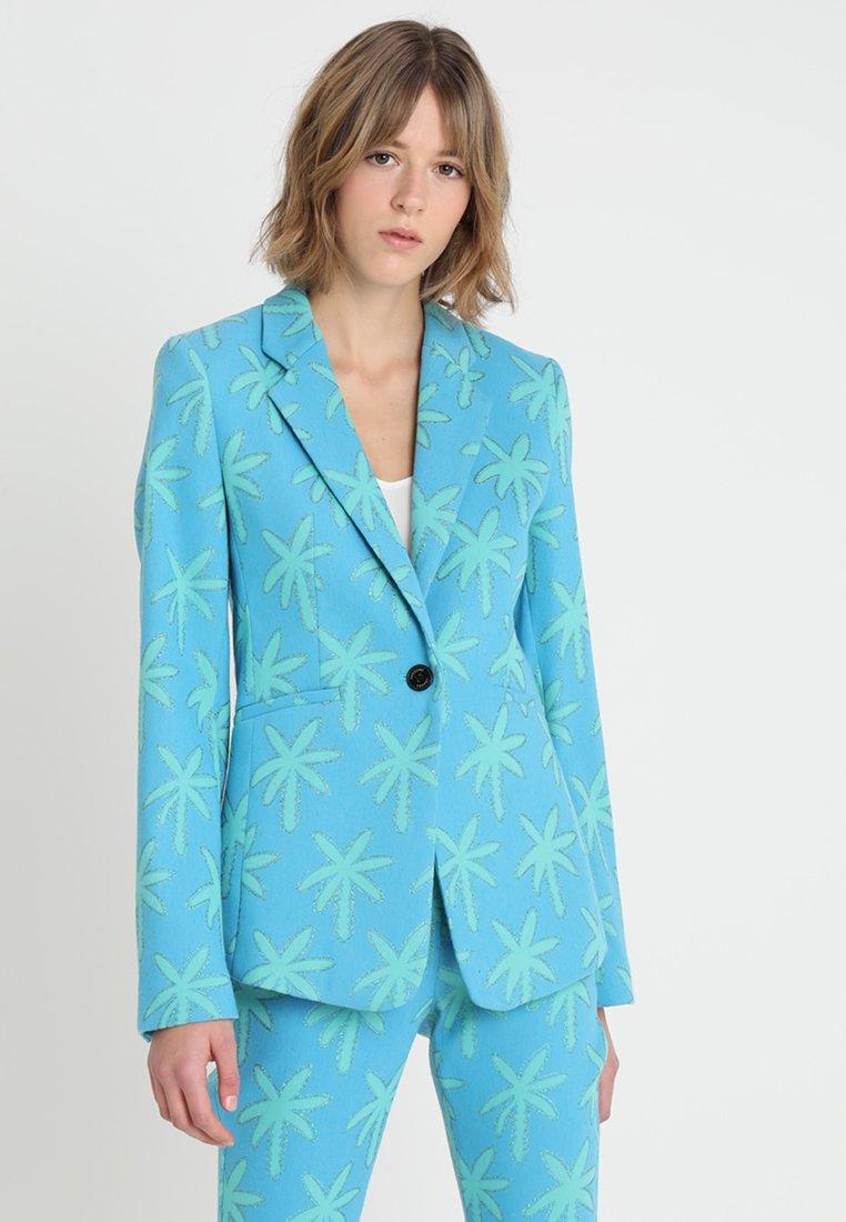Fabienne Chapot - BABETH PALM - Blazer - oasis blue