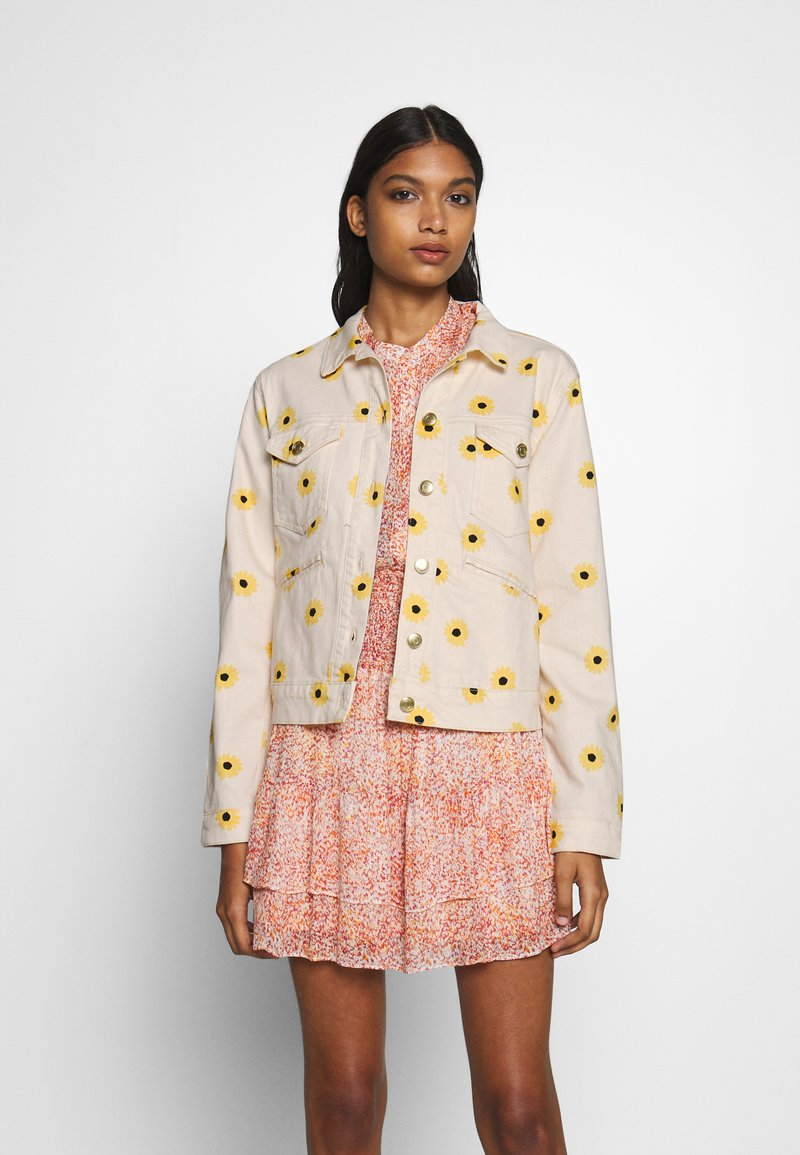 Fabienne Chapot - CYPRUS JACKET - Denim jacket - sunny