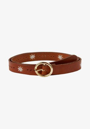 SUNFLOWER BELT - Belt - cognac