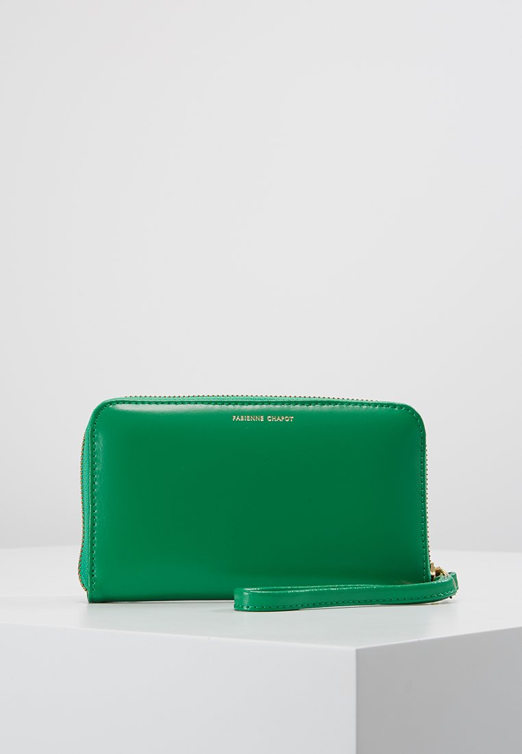 Fabienne Chapot - LOGO PURSE SMALL - Geldbörse - basil green