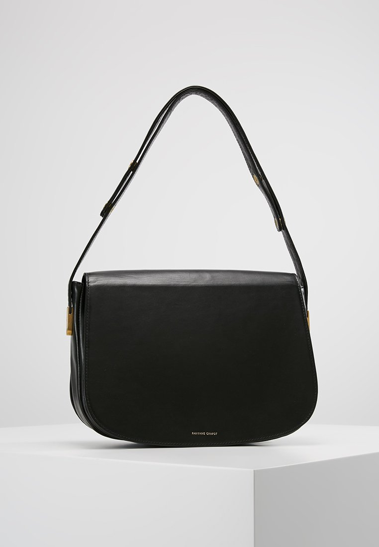 Fabienne Chapot - JUNO BAG MEDIUM - Käsilaukku - black