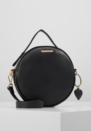 ROUNDY BAG - Käsilaukku - black