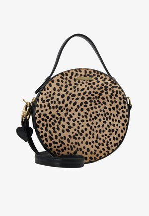 ROUNDY BAG - Handbag - camel/black