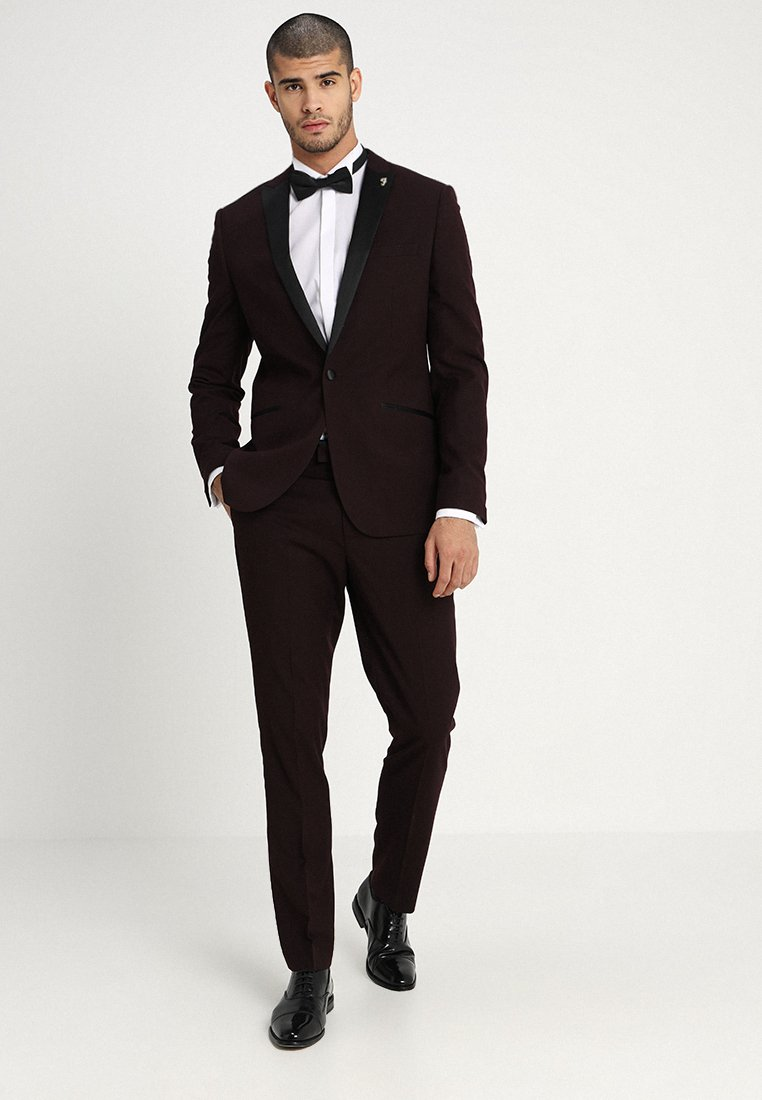 Farah Tailoring - WOODSLEY DIAMOND - Suit - bordeaux
