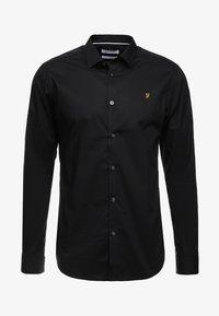 Farah Tailoring - HANDFORD SLIM FIT - Formal shirt - black - 4