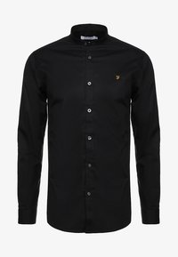 Farah Tailoring - HANDFORD SLIM FIT - Formal shirt - black - 4