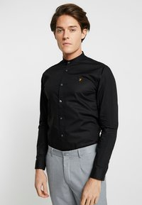 Farah Tailoring - HANDFORD SLIM FIT - Formal shirt - black - 0