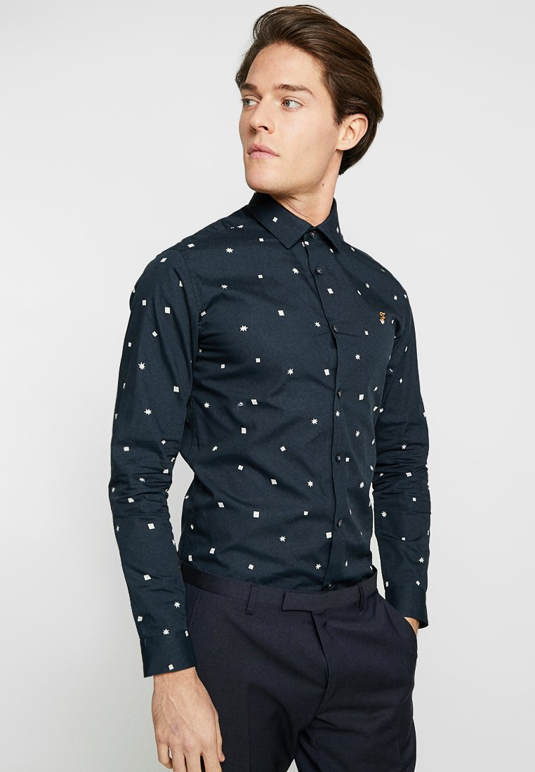 Farah Tailoring - SINGH SLIM FIT - Shirt - true navy