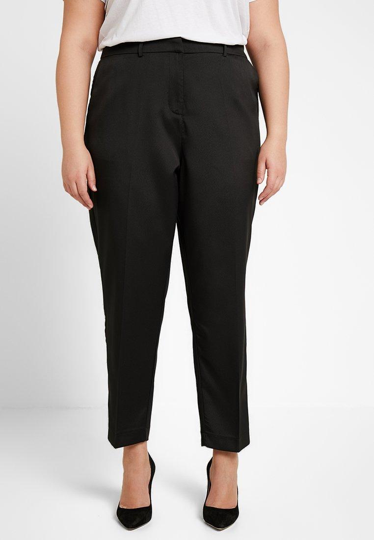 Fashion Union Plus - TROUSER  - Stoffhose - black