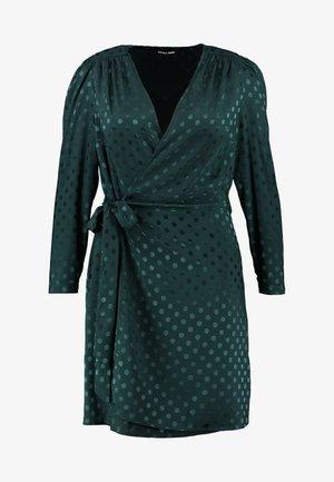 PONDER GARDEN SPOT OPEN BACK SELF TIE WRAP - Robe d'été - ponder green