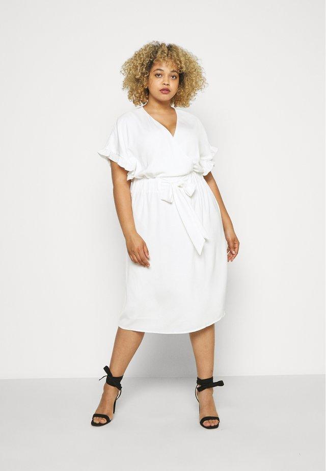 LAUREN DRESS - Korte jurk - ivory