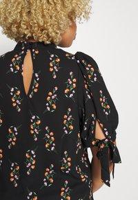Fashion Union Plus - RON - Camicetta - black - 5