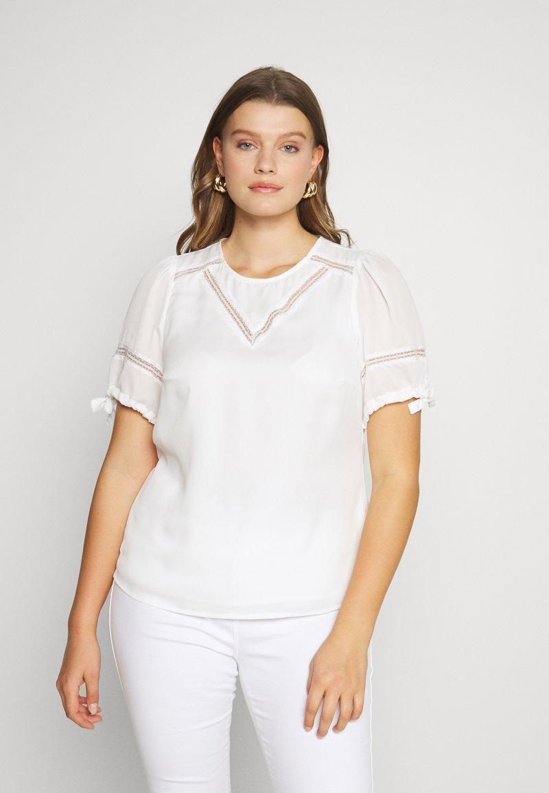 Fashion Union Plus - RON - Bluser - ivory