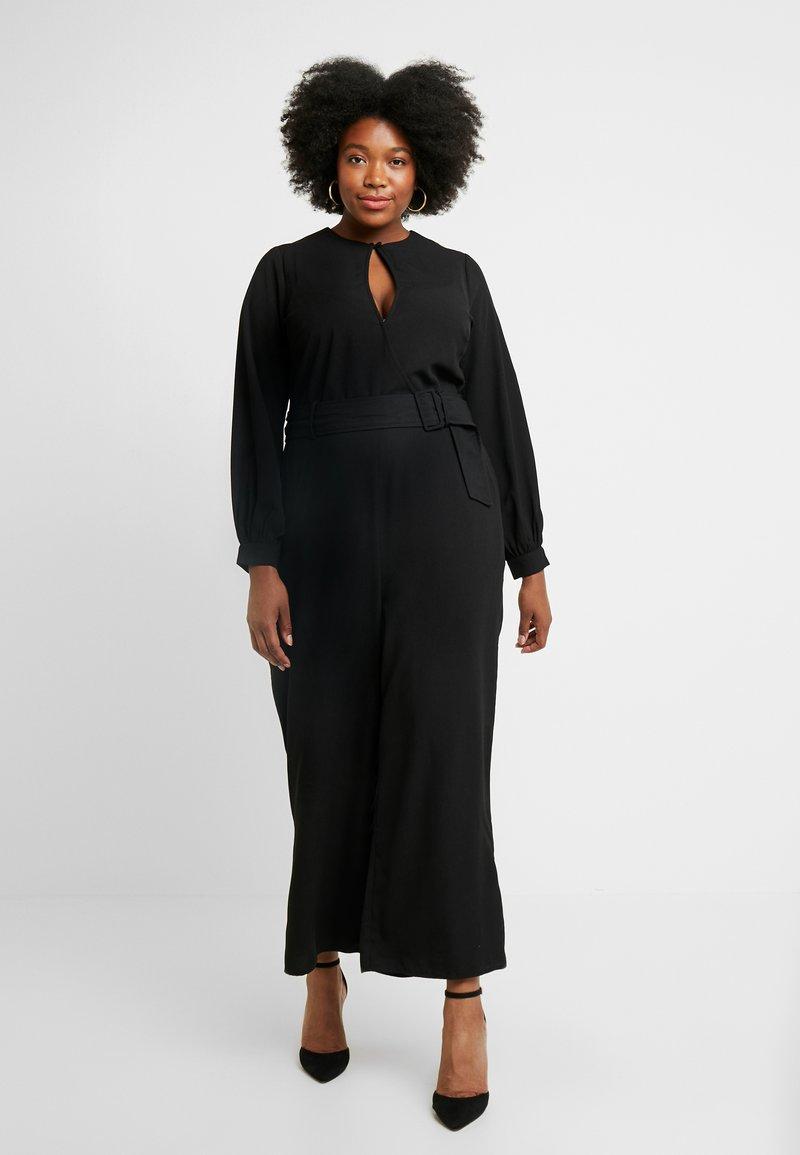 Fashion Union Plus - NANNIE - Haalari - black