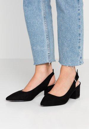 WIDE FIT WAUREN - Classic heels - black
